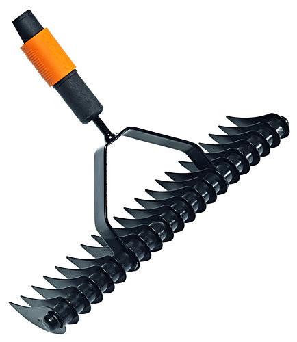 Грабли для уборки и разрыхления почвы от Fiskars QuikFit™ (135513)