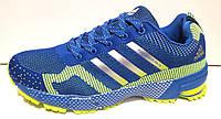 Кроссовки мужские Adidas из текстиля синие AD0029