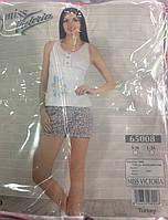 Женская пижама с шортами