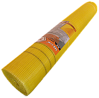 Сетка стеклотканевая 125г/м2 X-WORKS желтая