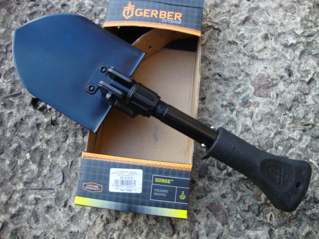 Лопата Gerber GORGE с нейлоновым чехлом