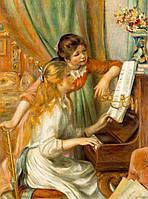 Пазл Clementoni - Ренуар, Две девочки за пианино (Renoir, Two Girls at the Piano)