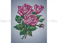 Схема вышивки бисером «Букет роз» (A4)