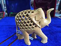 Слон беременны, дерево Индия ручная работа