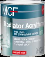 Акваэмаль для отопительных приборов MGF Radiator Acrylfarbe 2,5 л