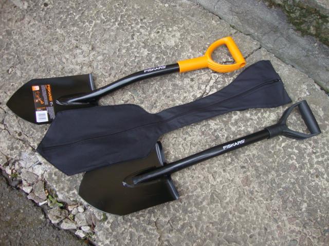 Сапёрная  лопата Fiskars Solid (131417)+чехол