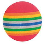 Игрушка для кошек Trixie Мяч радужный, вспененная резина Ø 3,5 см, набор 4 шт., фото 2