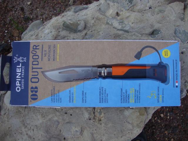 Нож Opinel (опинель) N°8 Outdoor Orange (001577)