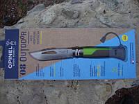 Нож Opinel (опинель) N°8 Outdoor Earth-Green (001715)