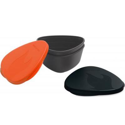 Набор посуды LIGHT MY FIRE SnapBox 2-pack Orange/Black, (40358913)