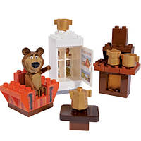 Конструктор 35 деталей Маша и Медведь BIG 57093
