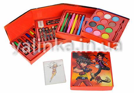 """Набор для детского творчества чемоданчик """"Monsuno """"36 предметов, фото 2"""