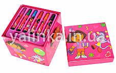 """Набор для детского творчества чемоданчик """"Dora""""36 предметов, фото 3"""