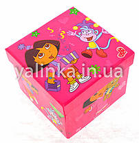 """Набор для детского творчества чемоданчик """"Dora""""36 предметов, фото 2"""