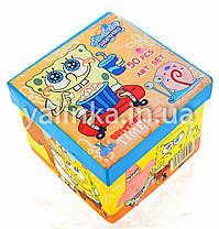 """Набор для детского творчества чемоданчик """"Спанч-Боб""""36 предметов, фото 3"""