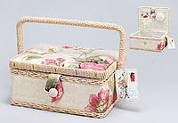Корзинка текстильная для рукоделия (МДФ)