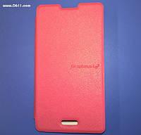 Чехол VOIA Flip Case для LG Optimus L5 II Single (E450) pink