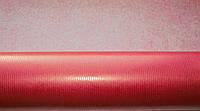 Крафт-бумага подарочная (для цветов) Красная 10 м/рулон
