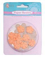 Набор цветов бумажных Пастельные цвета 30 шт 952618