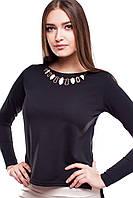 Блуза черная Рейчел, фото 1