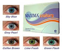 Цветные контактные линзы Maxima color