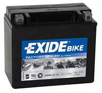 Аккумулятор для мотоцикла гелевый EXIDE SLA12-10 = AGM12-10 10Ah 150x80x130