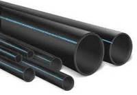 Слепая магистральная труба Биолог 32 толщина стенки 2.2 мм, давление до 4 атм, в намотке 100 м