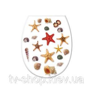 Сидение для унитаза Морские звезды Elif
