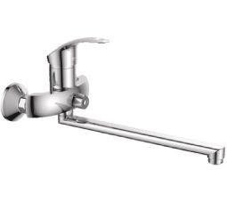 Смеситель для ванны Haiba Fabio с длинным поворотным гусаком