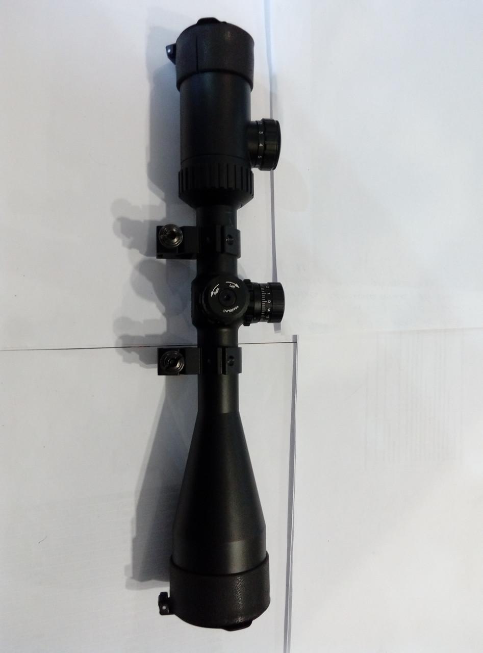 Прицел ZOS 3-9x50 E с кольцами сетка Mil Dot