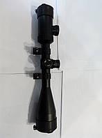 Прицел ZOS 3-9x50 E с кольцами сетка Mil Dot, фото 1