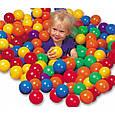 Набор мячей для сухого бассейна диаметр 8 см Intex 49600 , фото 2