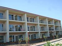 Перила алюминиевые на балкон