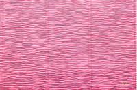 Гофрированная бумага розовая яркая (50 х 250 см)