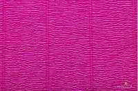 Гофрированная бумага малиновая темная (50 х 250 см)