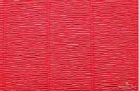 Гофрированная бумага светло-вишневая (50 х 250 см)