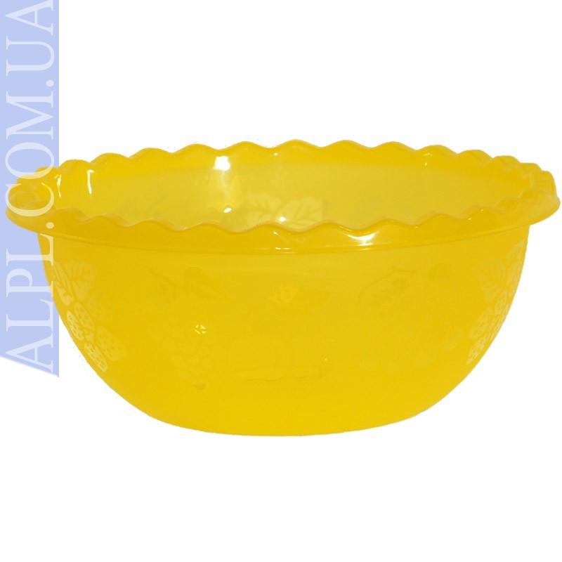 Таз для фруктов 6 л Желтый