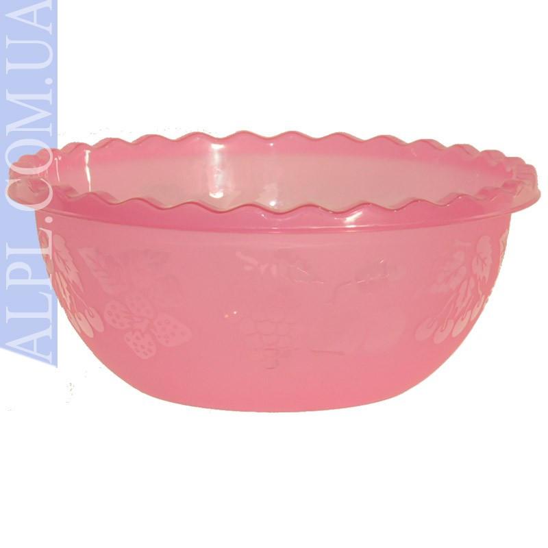 Таз для фруктов 6 л Розовый