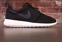 """Кроссовки мужские Nike Roshe Run """"Черно-белые""""р.41, 42, 45, фото 1"""