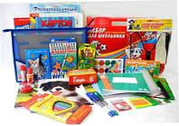 Школьный набор первоклассника универсальный для девочки 54 предмета, 35 позиций, набор для первоклассника