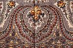 """Платок шерстяной с шелковой бахромой """"Фея сирени"""", 146x146 см. рис 406-3, фото 5"""