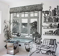 Альтернативное оформление комнаты.
