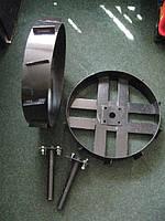 Колеса 450 м металлические + ступицы