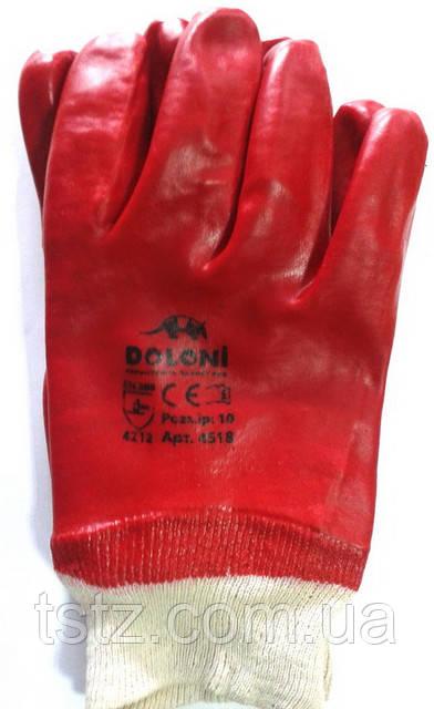 Перчатки МС красные