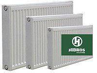 Радиатор стальной RK  тип 11 - K 500 x  800 HIDROS боковое подключение