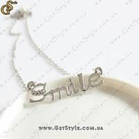 """Украшение на цепочке """"Smile"""", фото 1"""