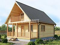 Каркасные дома, деревянные коттеджи