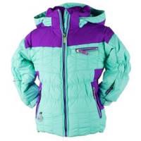 Зимняя мембранная куртка для девочки Obermeyer. Размер 98.
