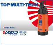 Новые насосы от компании Pedrollo – погружные насосы TOP MULTI-TECH.