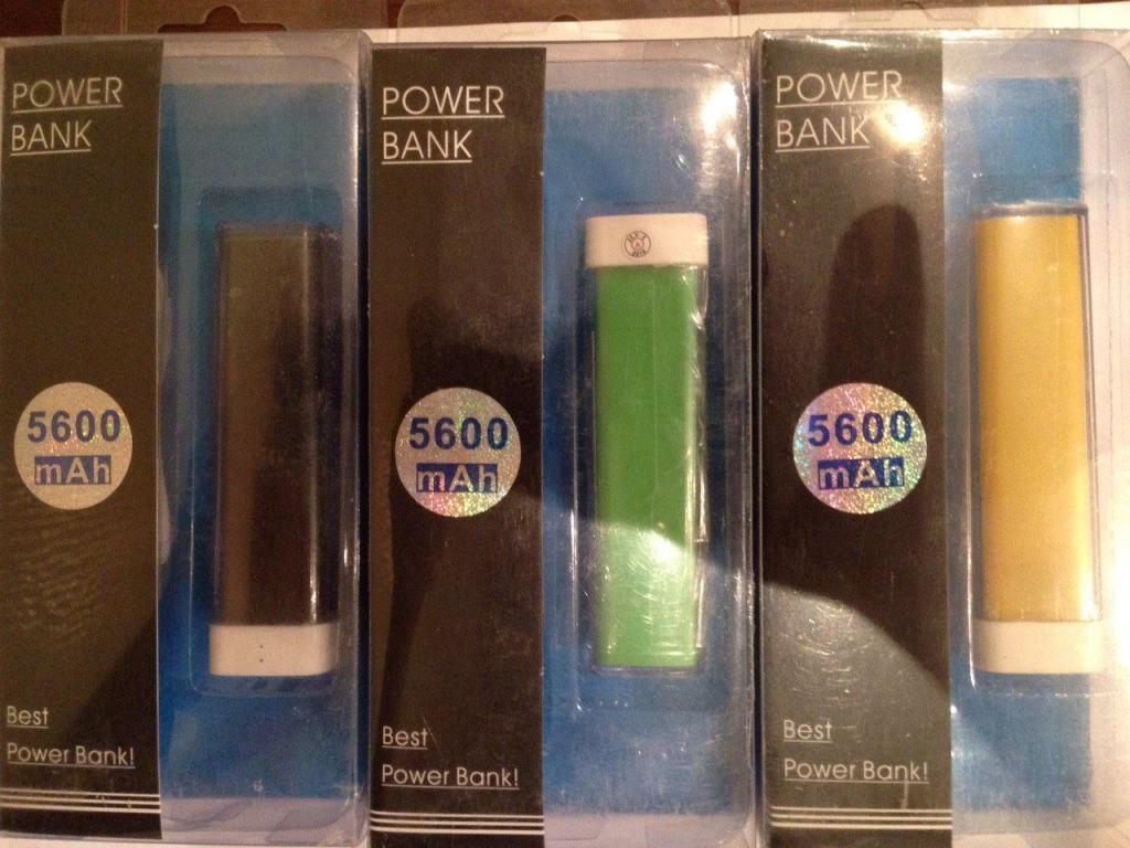 Портативное Зарядное Power Bank 5600 mAh АКЦИЯ